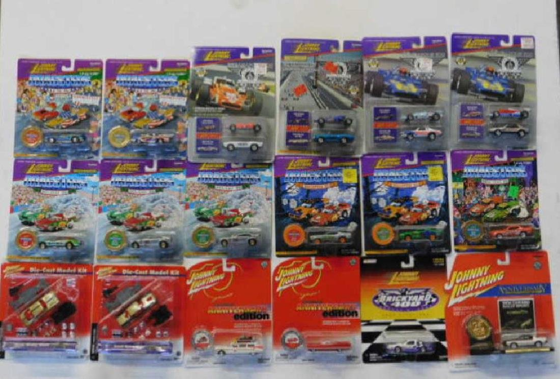 Assorted Johnny Lightning Cars