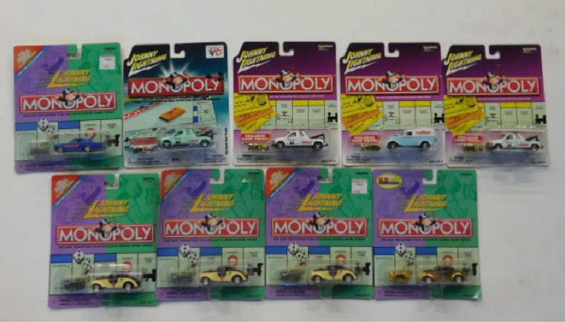 Johnny Lightning Monopoly Vehicles