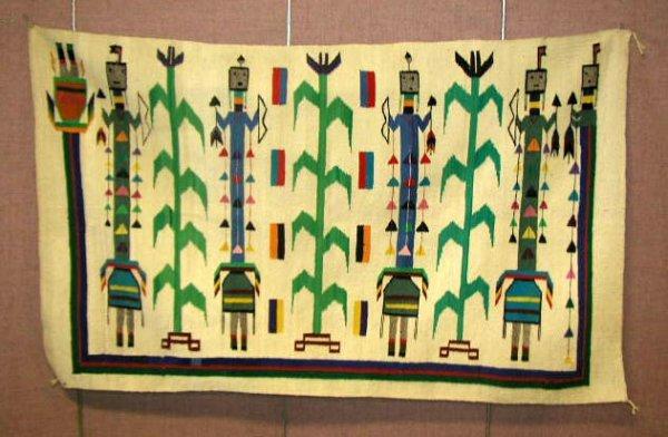 3077A: Contemporary Navajo Rug