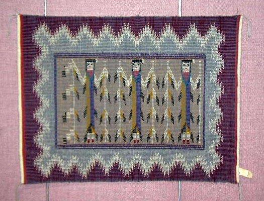 3080: Contemporary Navajo Rug