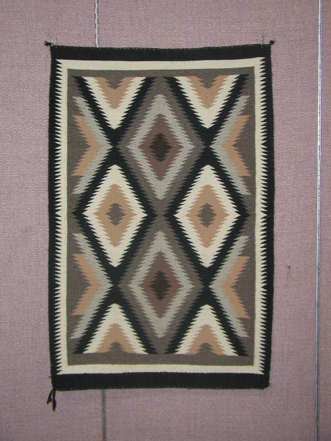 3087: Contemporary Navajo Rug