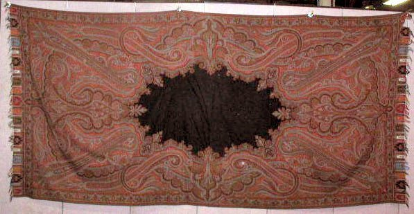 2006A: 19th C. Paisley Coverlet