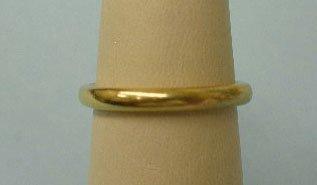 3011: Tiffany & Co. gold wedding band