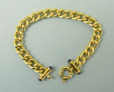 3020: 14k gold bracelet