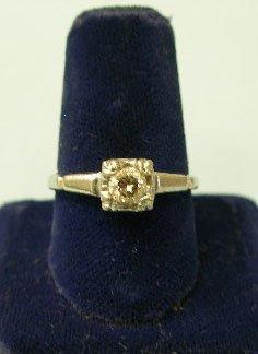 3049: Diamond engagement ring