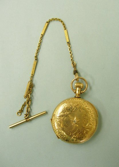 3065: Gold Filled Elgin Pocketwatch & Chain