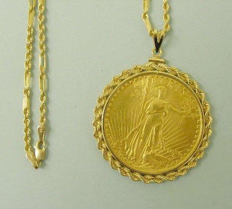 3067: 1926 $20 US Gold Saint Gaudens Coin