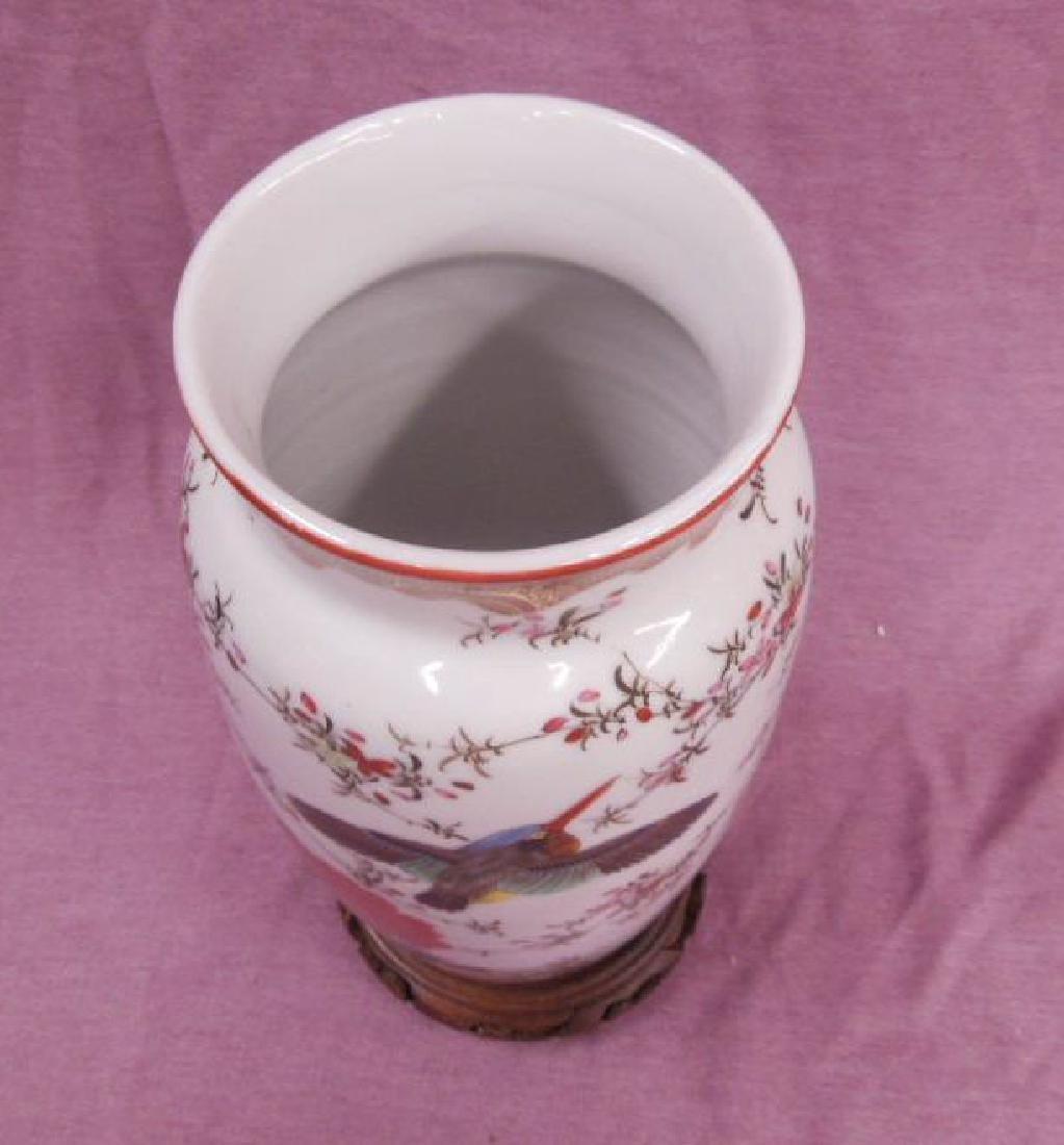 Japanese Kutani Porcelain Vase - 3