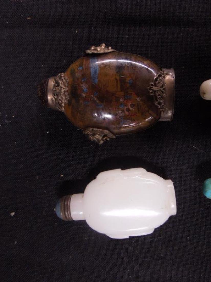 4 Chinese Snuff Bottles - 2