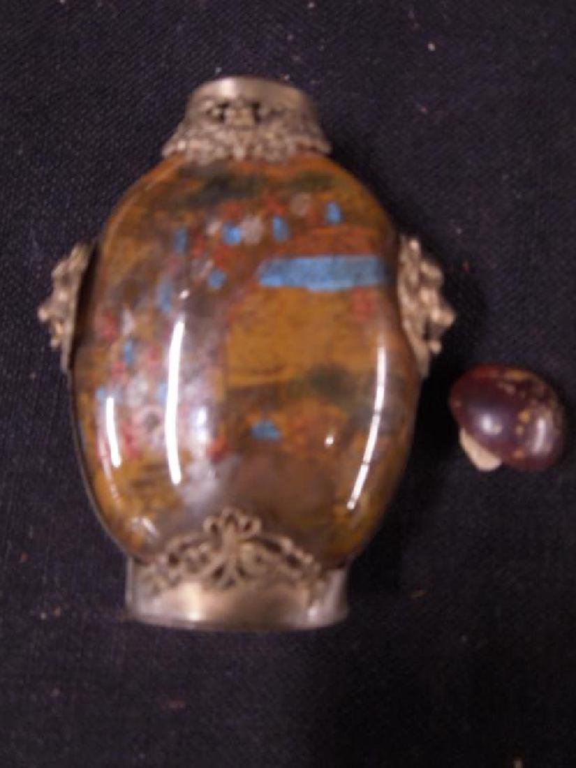 4 Chinese Snuff Bottles - 7