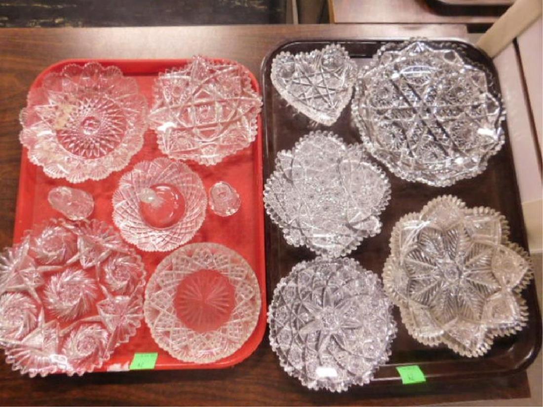 American Cut Glass Lot