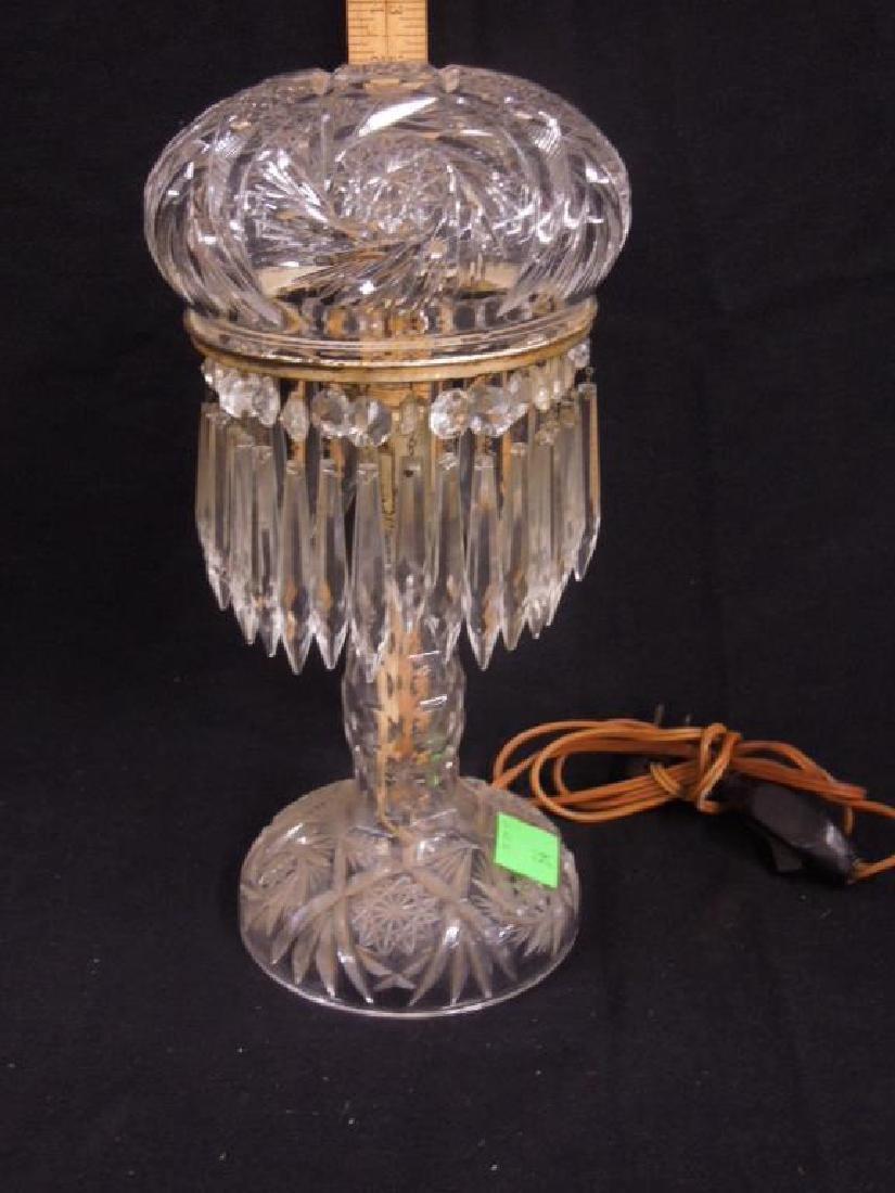 American Cut Glass Table Lamp
