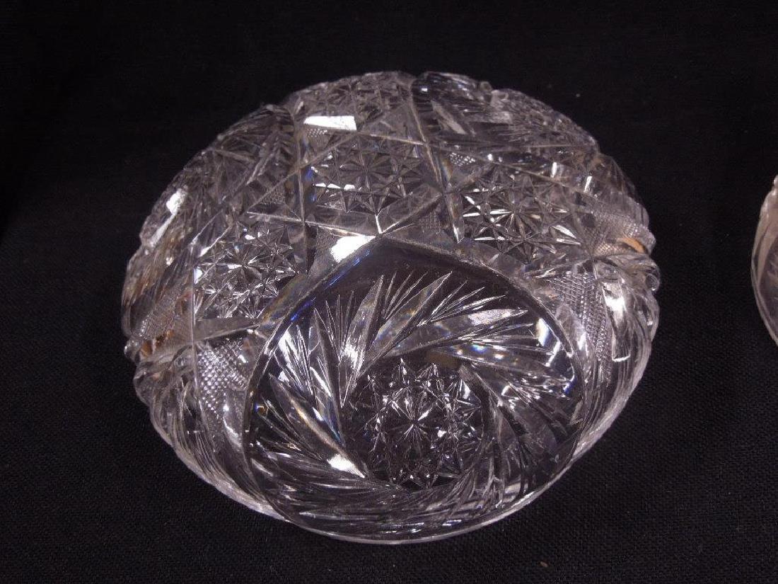 American Cut Glass Table Lamp - 3