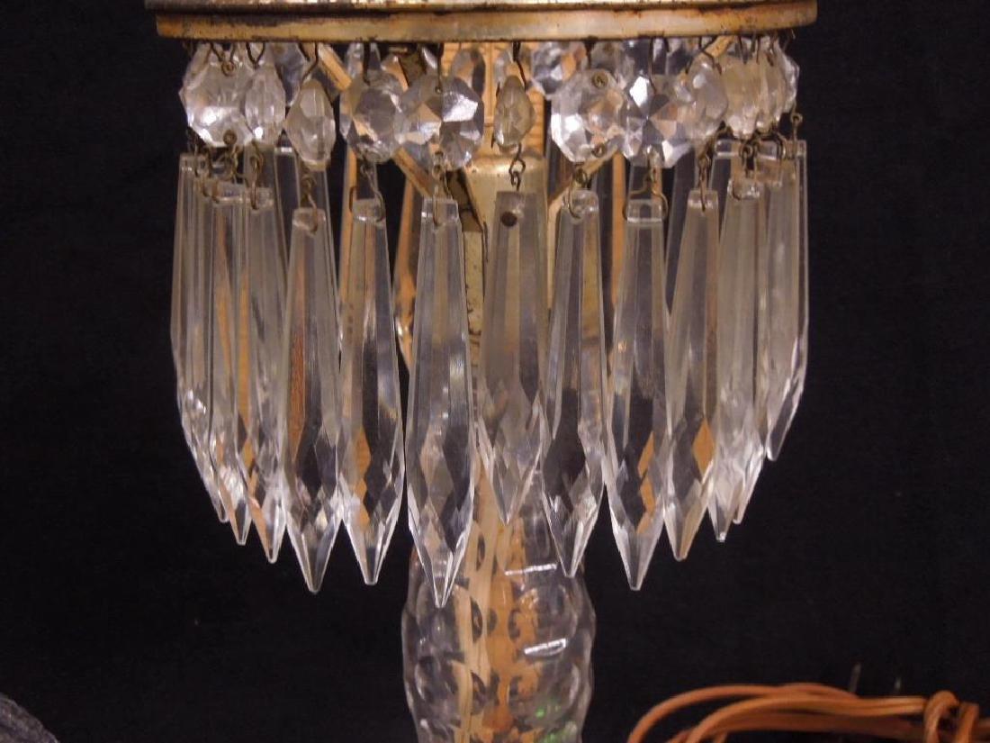 American Cut Glass Table Lamp - 5