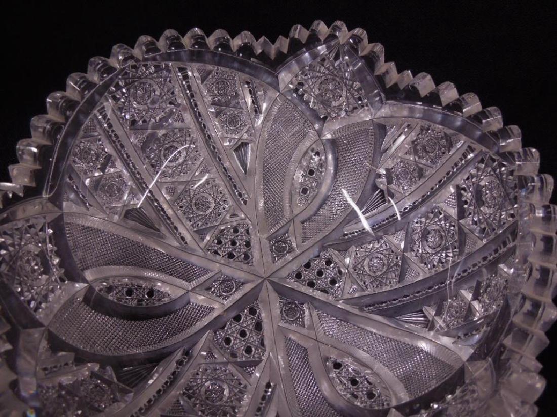 American Cut Glass Bowls - 3