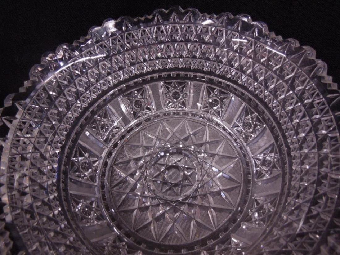 American Cut Glass Bowls - 4