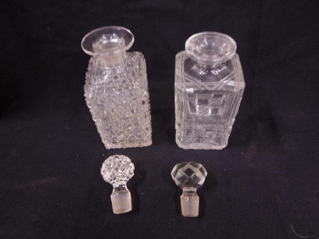 Two American Cut Glass Decanters - 2
