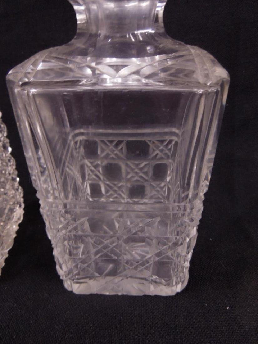 Two American Cut Glass Decanters - 4