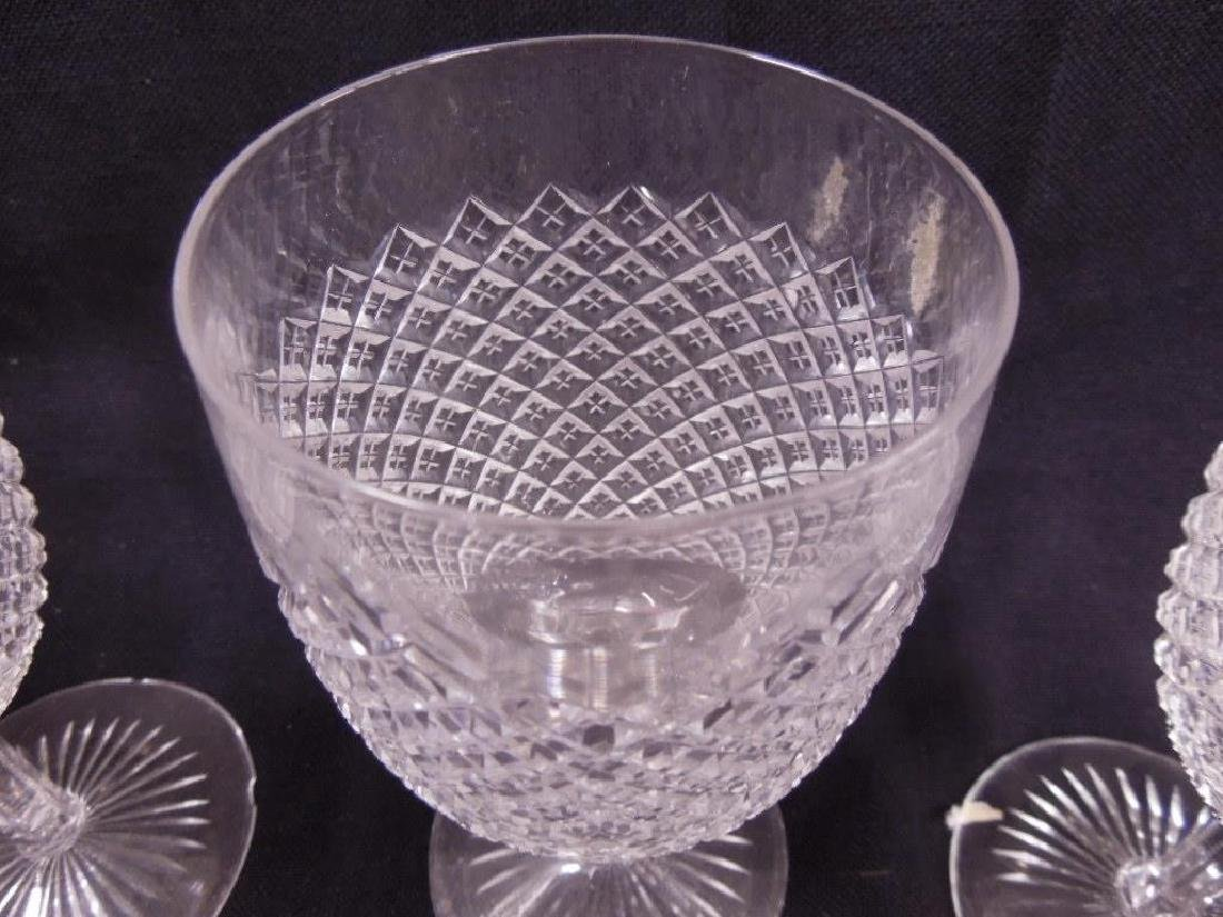 7 pcs, American Cut Glass Stemware - 2
