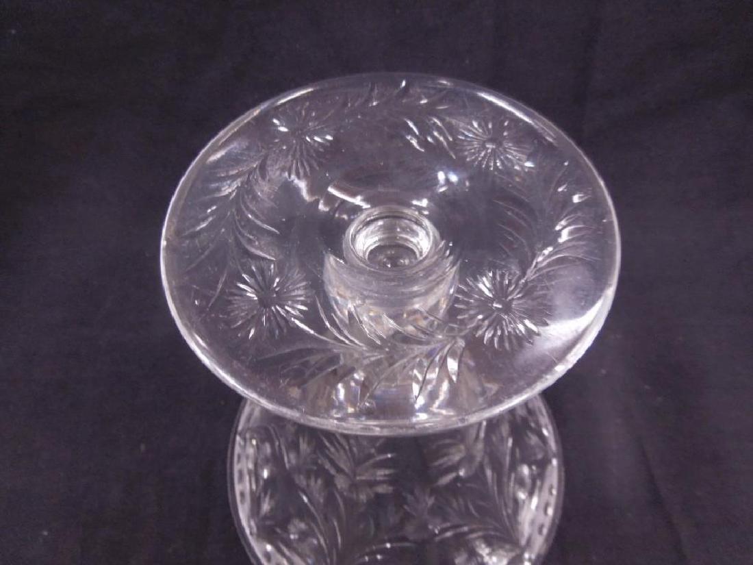 Pairpoint Intaglio Cut Glass Vase - 4