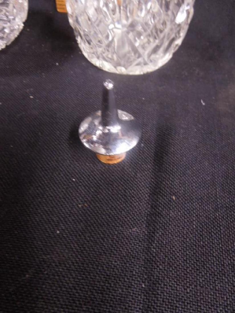 American Cut Glass Muffineer & Bitters Bottle - 4