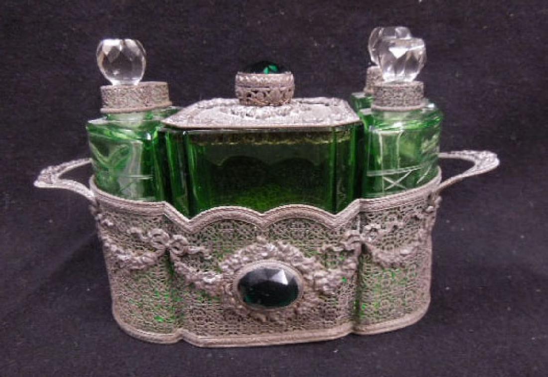 1930s Czechoslovakian Perfume Caddy
