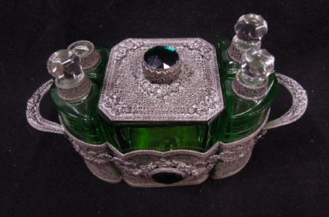 1930s Czechoslovakian Perfume Caddy - 2