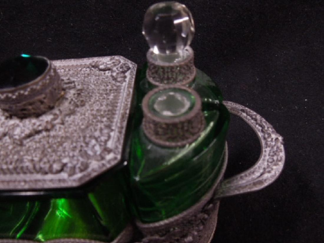 1930s Czechoslovakian Perfume Caddy - 3