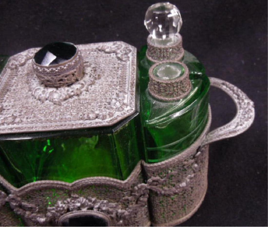 1930s Czechoslovakian Perfume Caddy - 4