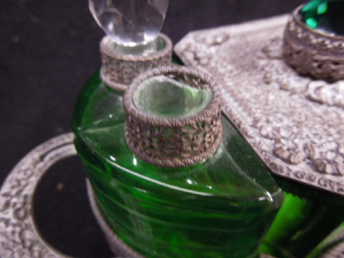 1930s Czechoslovakian Perfume Caddy - 5