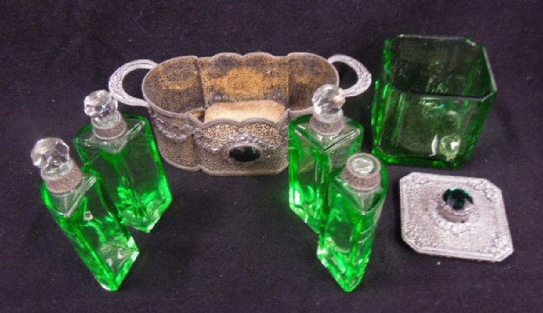 1930s Czechoslovakian Perfume Caddy - 7