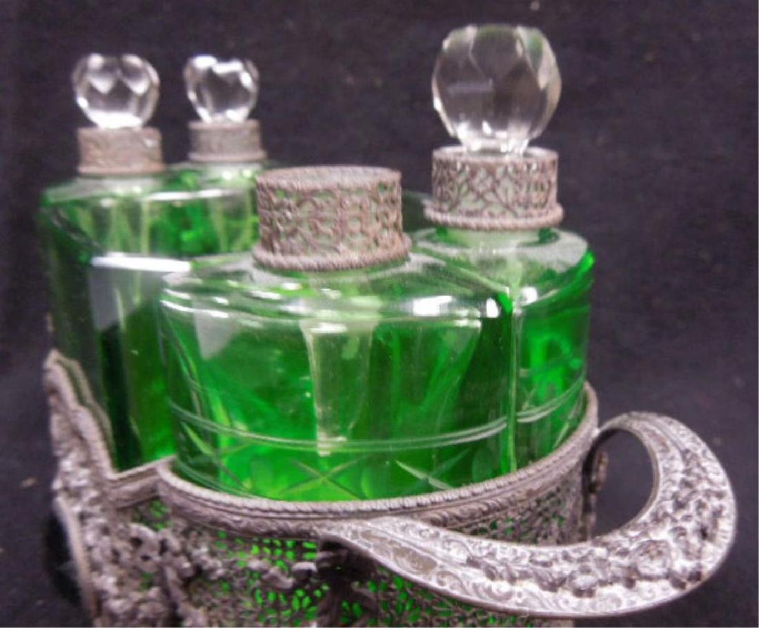 1930s Czechoslovakian Perfume Caddy - 9