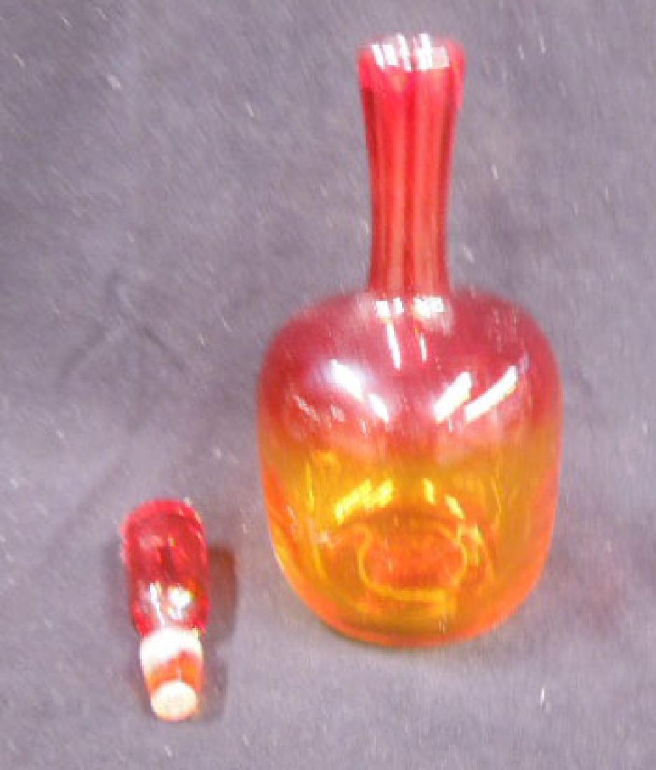 1960s Blenko Glass Decanter - 2