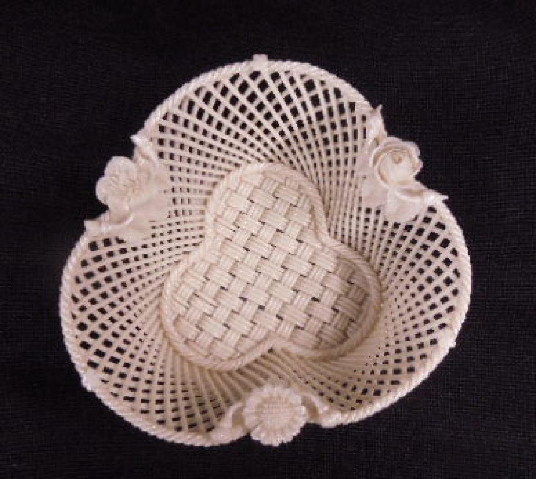 Belleek Fermanagh Woven Bowl