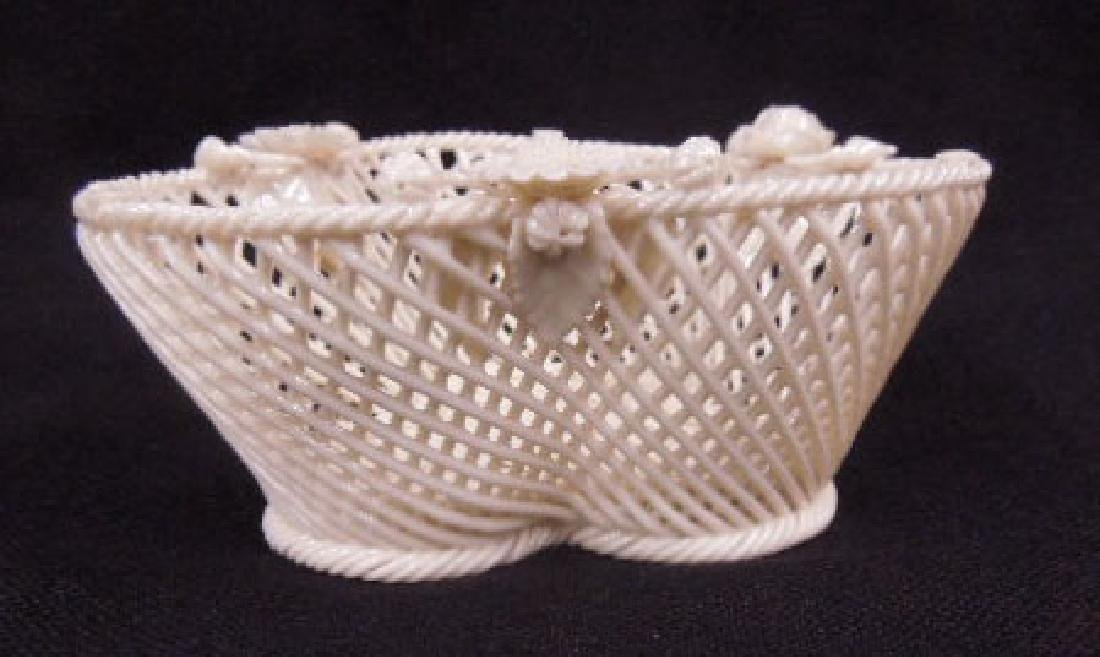 Belleek Fermanagh Woven Bowl - 2