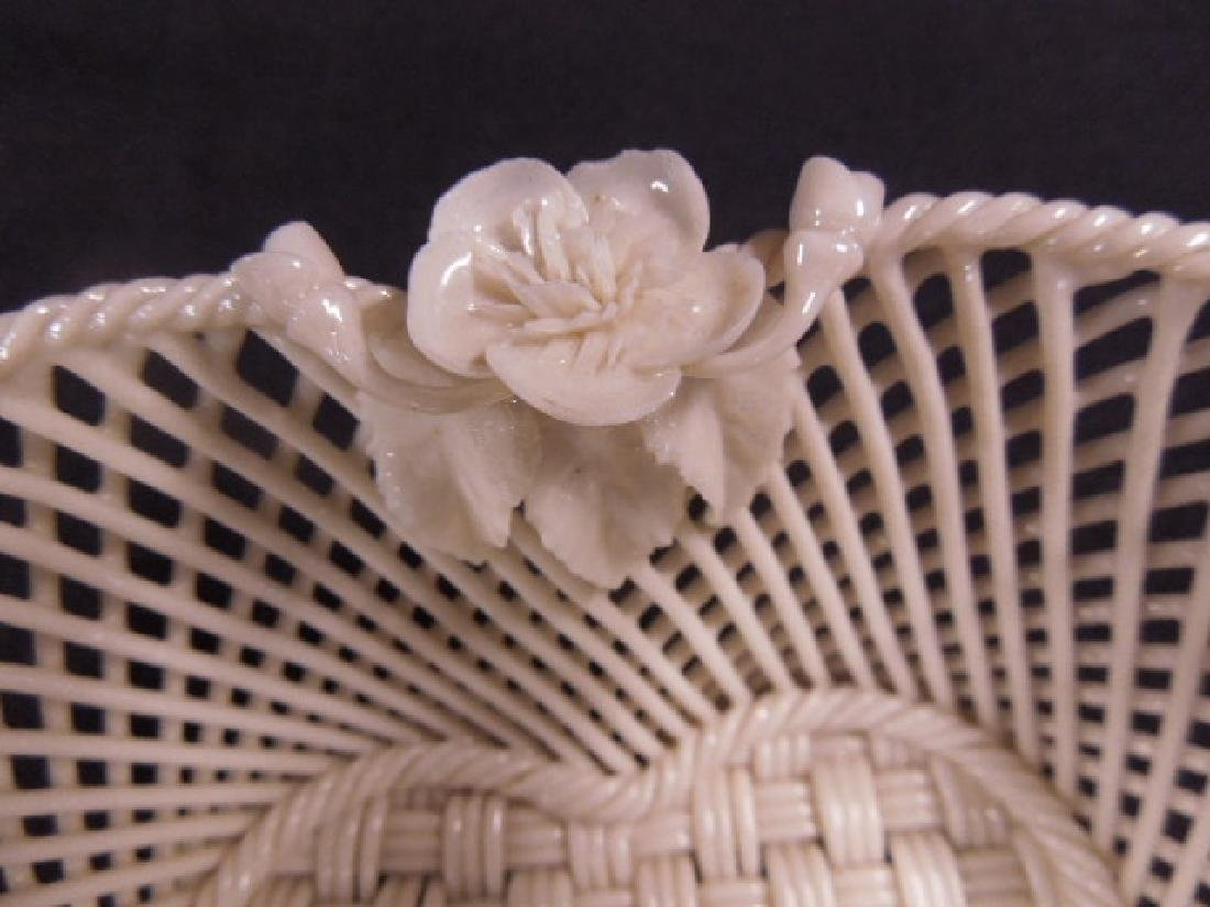 Belleek Fermanagh Woven Bowl - 3