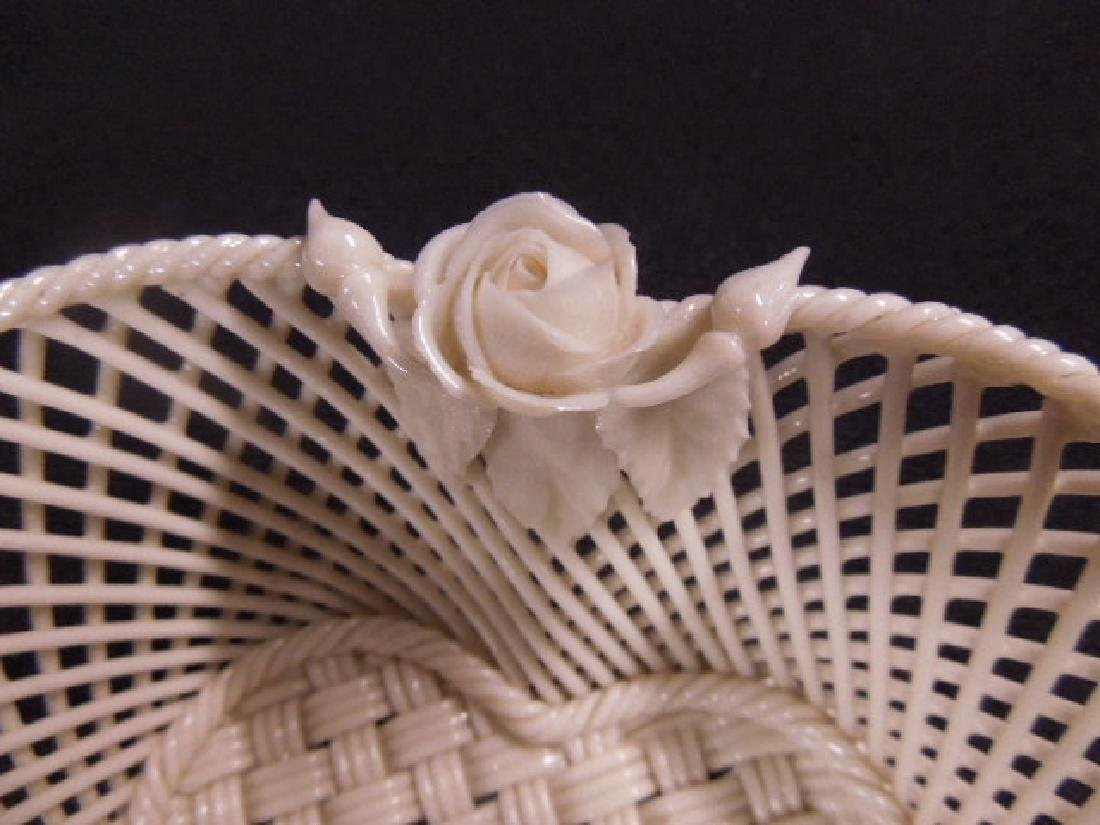 Belleek Fermanagh Woven Bowl - 4