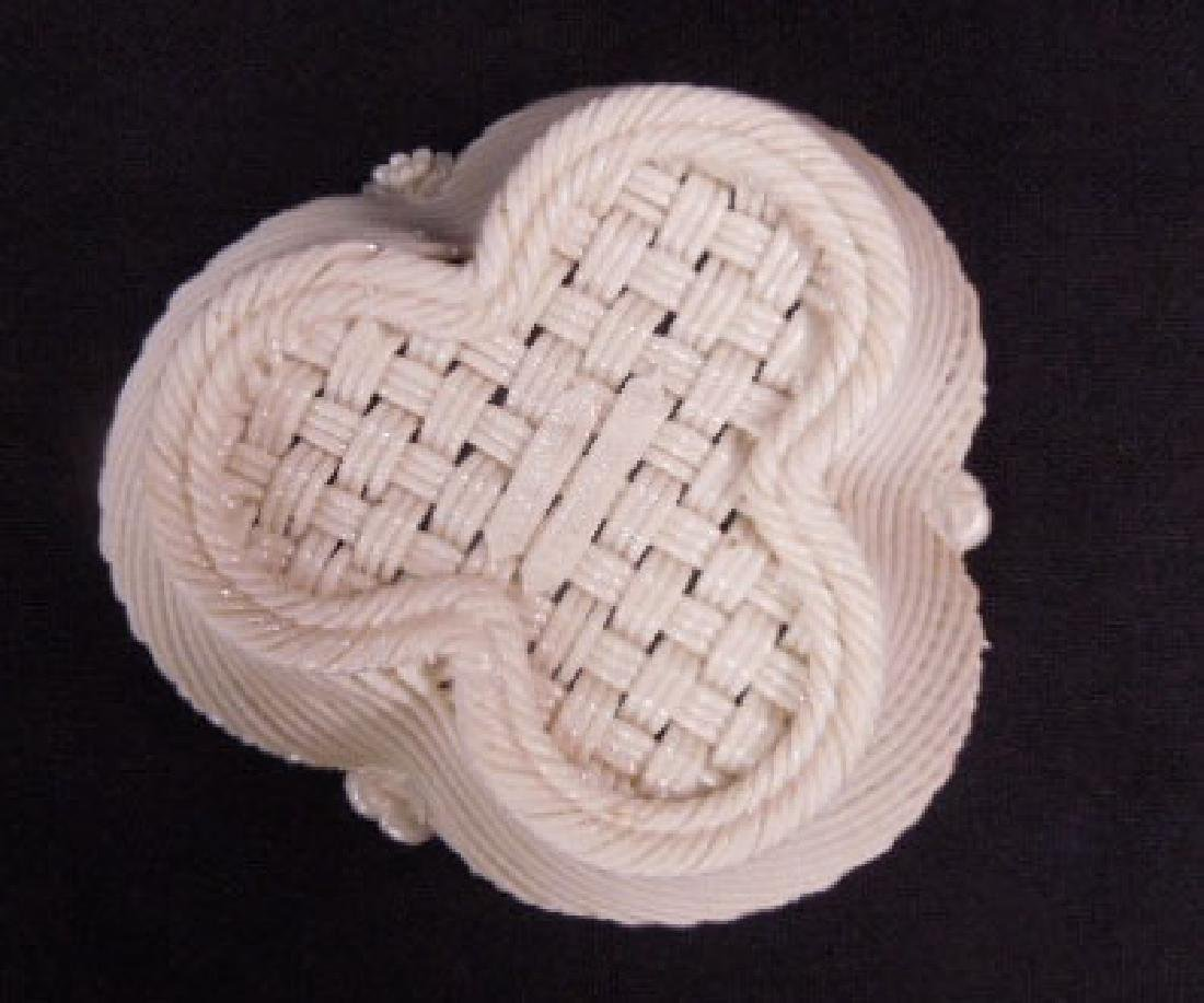 Belleek Fermanagh Woven Bowl - 5