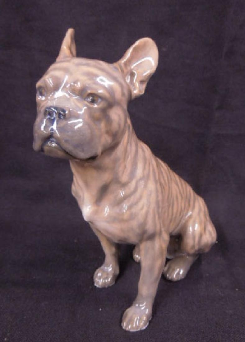 2 Royal Copenhagen Porcelain Bull Dogs - 4