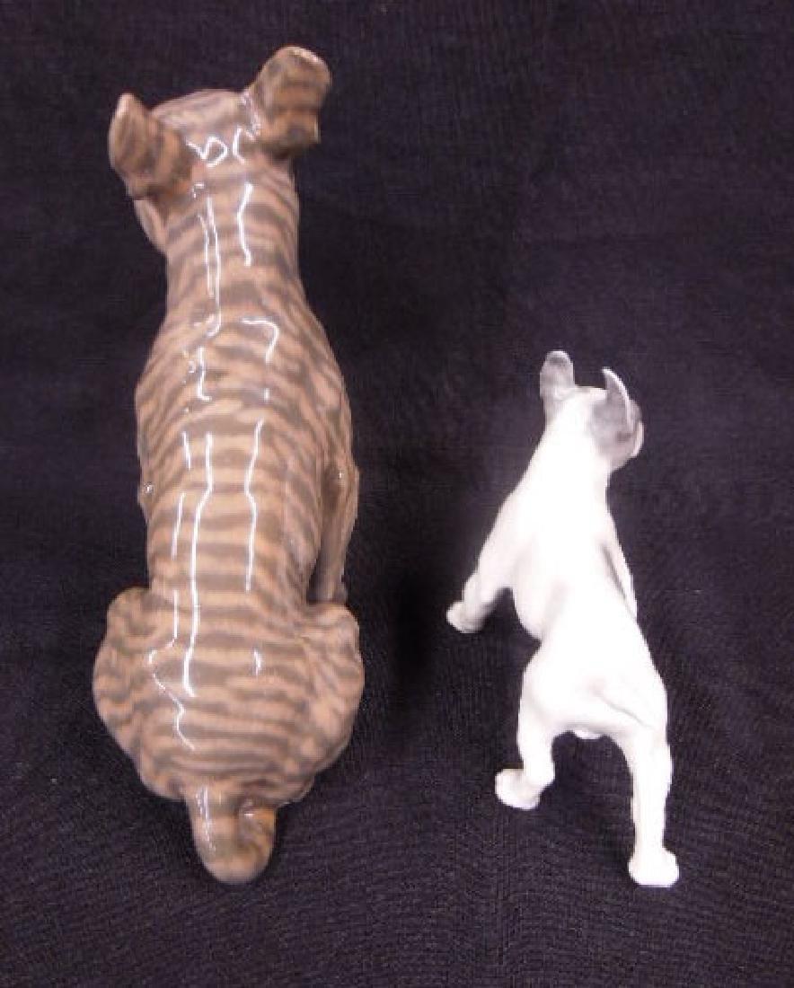 2 Royal Copenhagen Porcelain Bull Dogs - 6