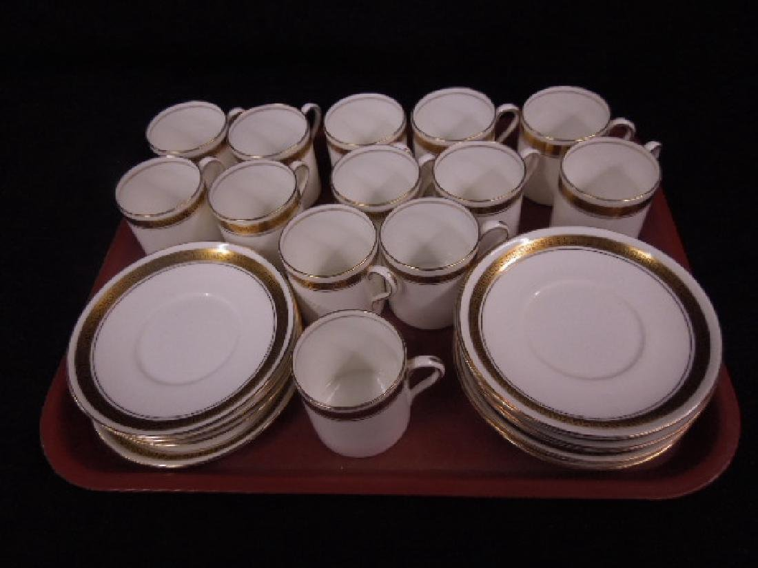 Shelley Demitasse Cups & Saucers