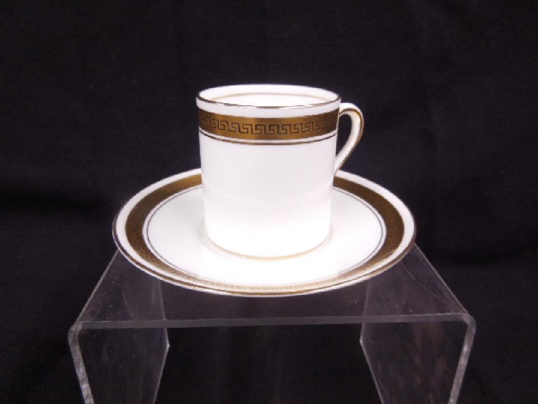 Shelley Demitasse Cups & Saucers - 2
