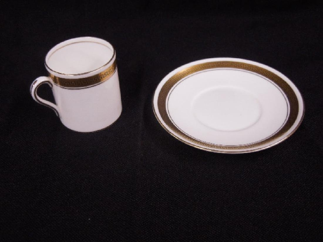 Shelley Demitasse Cups & Saucers - 5