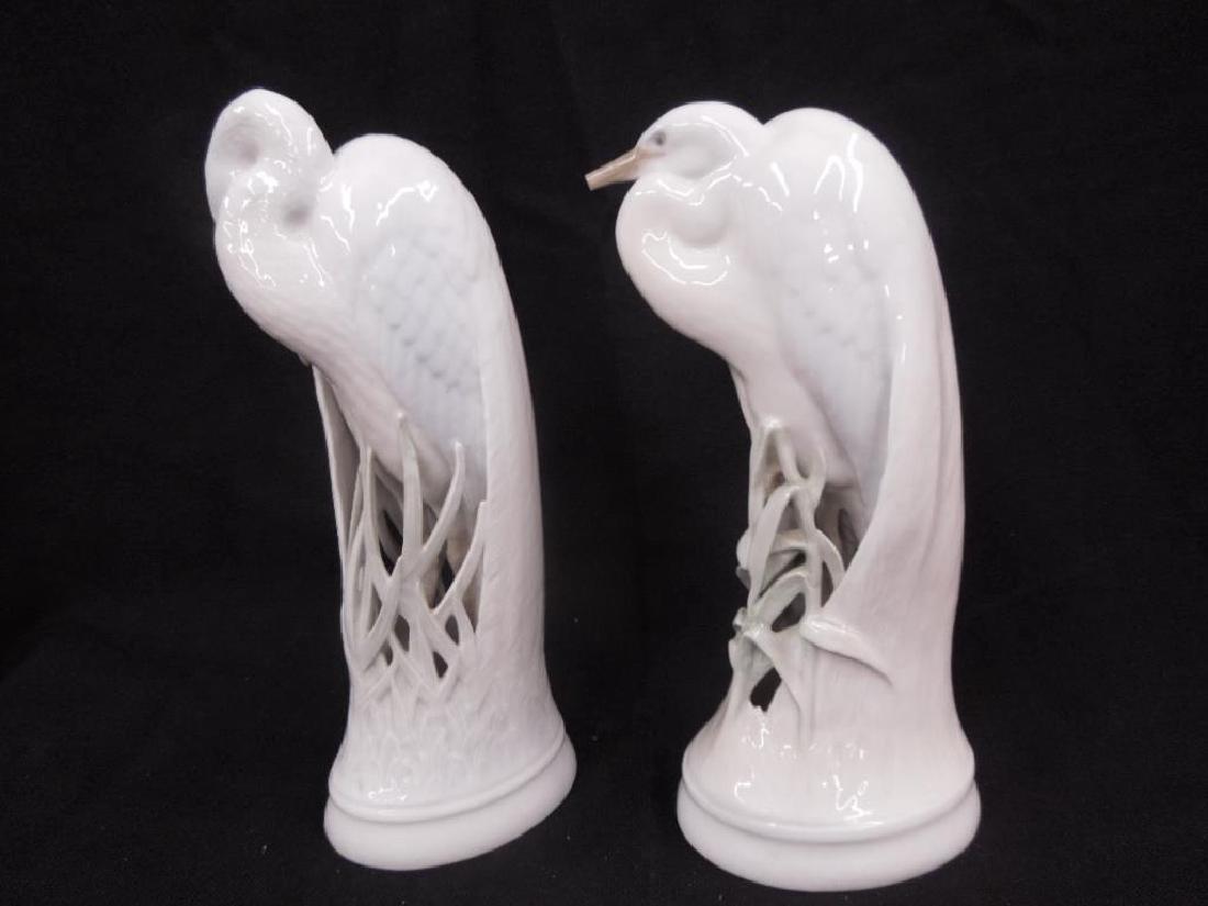 Pr. Royal Copenhagen Heron Figures - 2