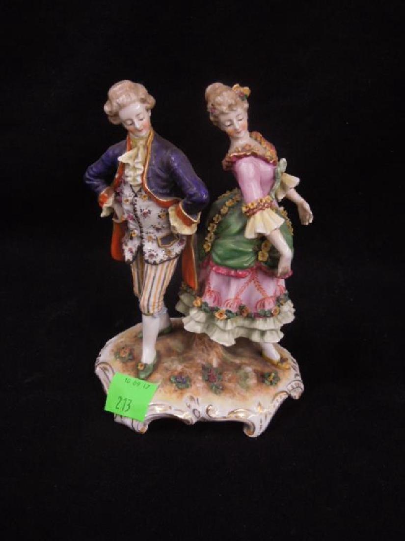 19th C. Porcelain Figure Group