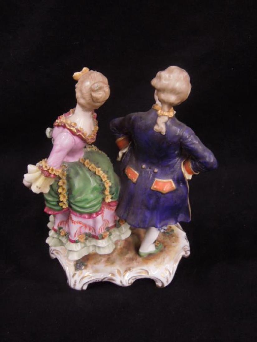 19th C. Porcelain Figure Group - 3