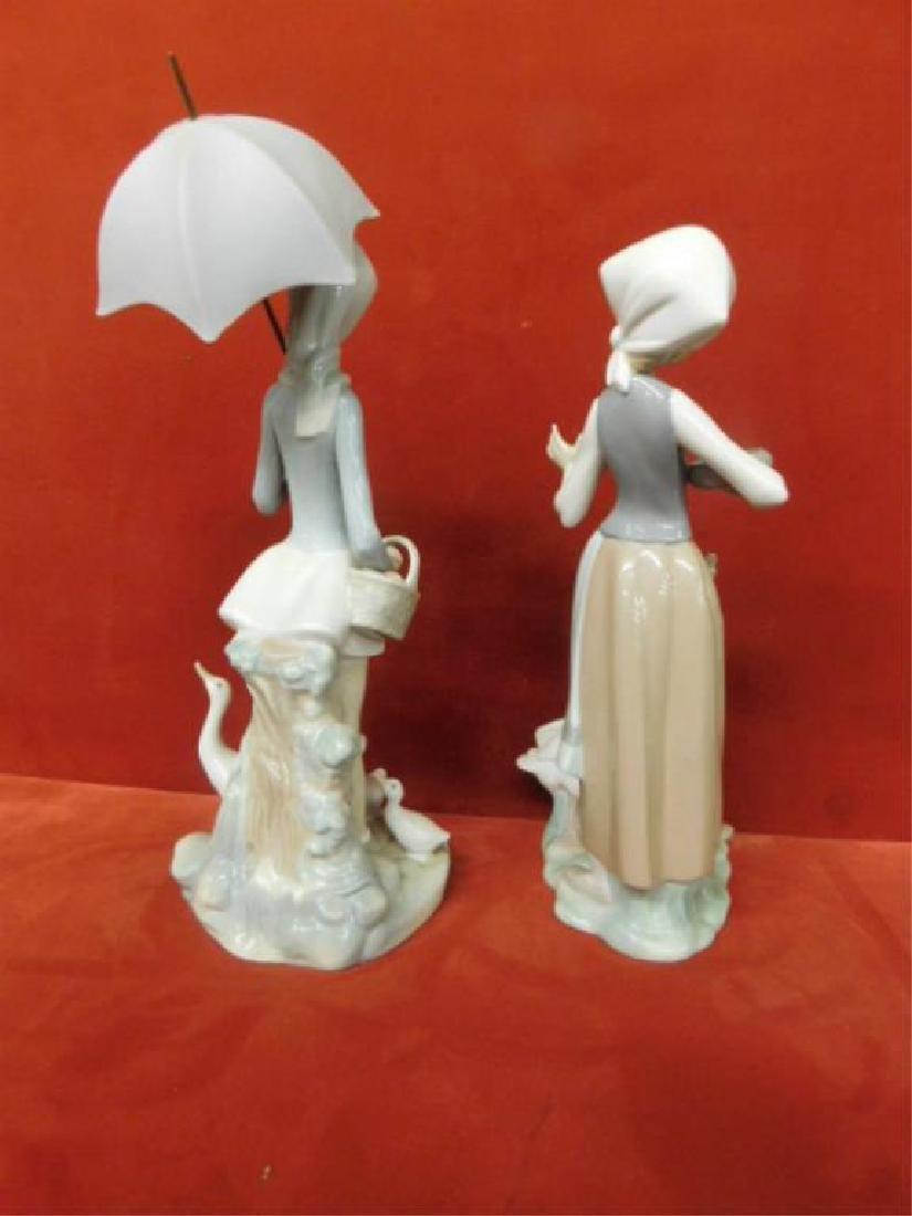 2 Lladro Porcelain Children Figures - 2