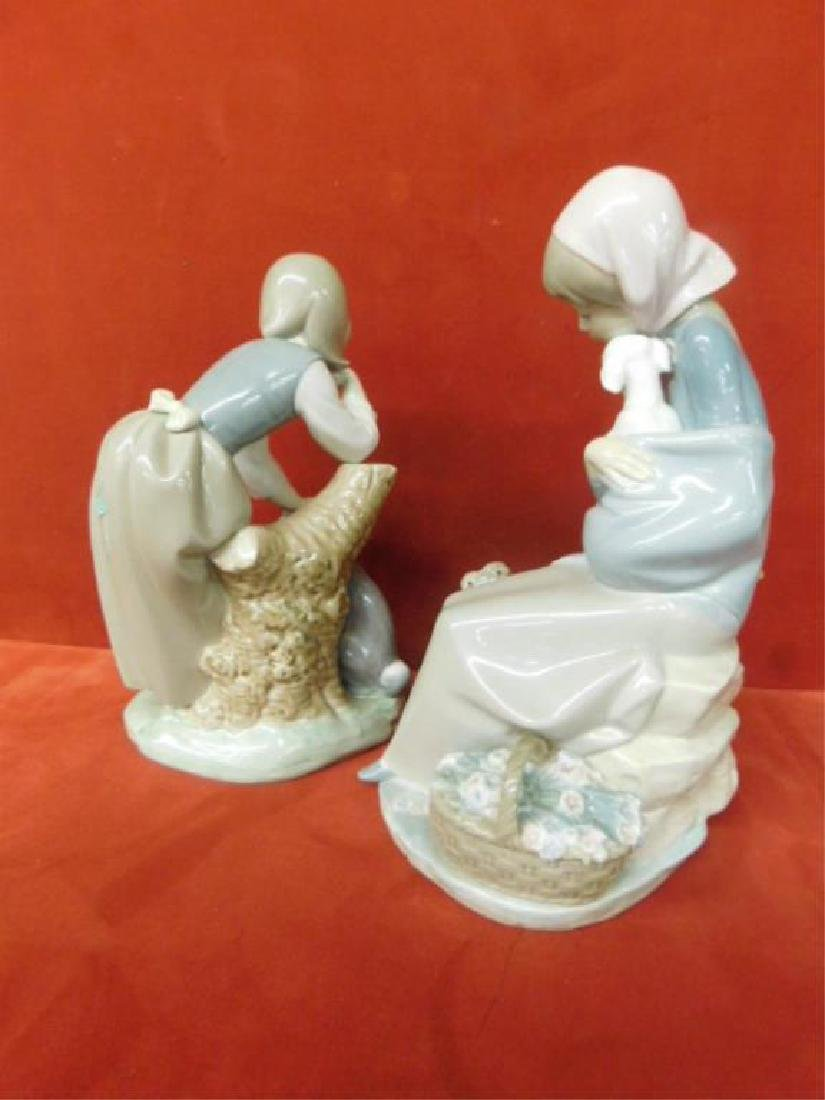 2 Lladro Porcelain Children Figures - 2