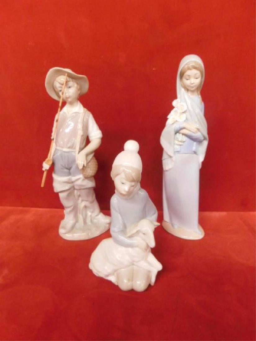 3 Lladro Porcelain Children Figures