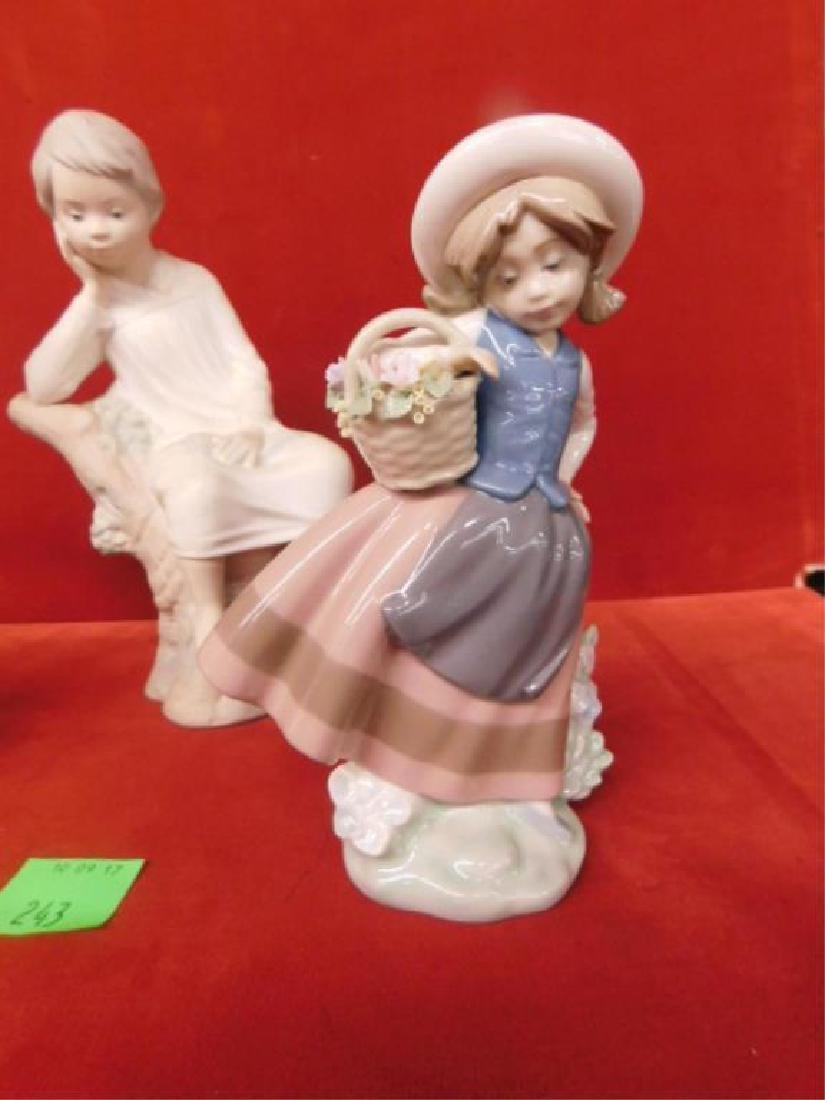 3 Lladro Porcelain Children Figures - 3